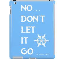 LET IT GO iPad Case/Skin