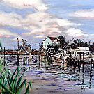 Sneads Ferry Marina by Jim Phillips