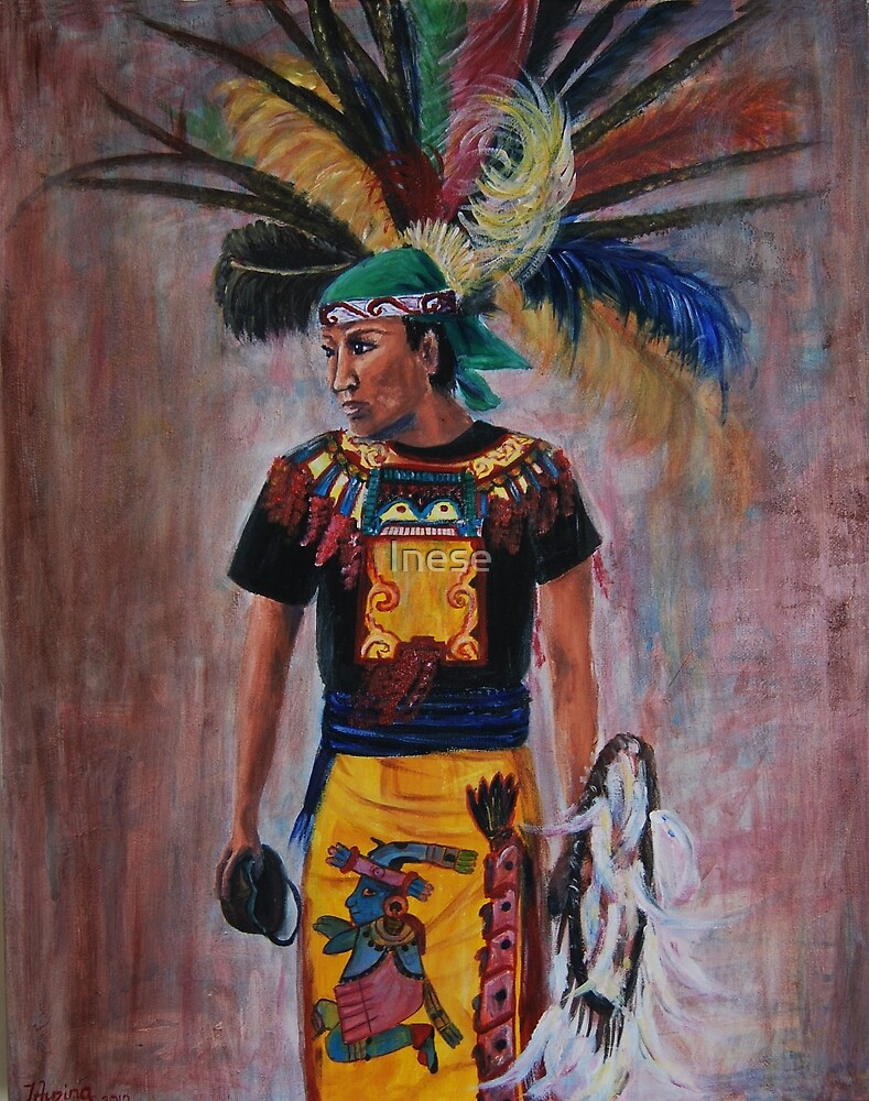 aztec girl by Inese