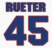 National baseball player Kirk Rueter jersey 45 by imsport