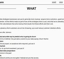 easy to use software to predict churn by traslochib