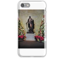 Christmas at Mount Vernon iPhone Case/Skin