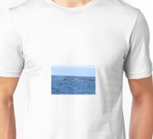 Two Grey Whales Unisex T-Shirt
