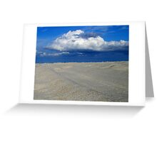 Fire Island ocean Greeting Card