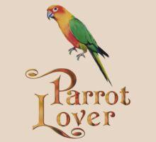 Parrot lover by Annika Strömgren