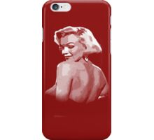 marilyn monroe t-shirt iPhone Case/Skin