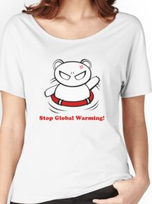Stop Global Warming! Women's Relaxed Fit T-Shirt
