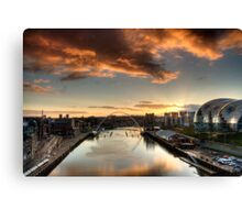 The Tyne Canvas Print