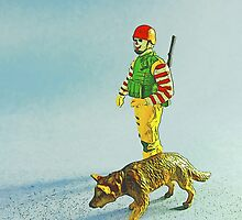 Ronnie & Rex go on a chicken patrol! by Tim Constable