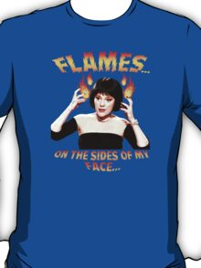 Clue Mrs White Flames T-Shirt