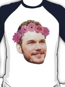 Chris Pratt Flower Crown T-Shirt