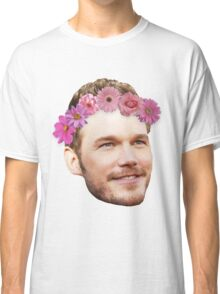 Chris Pratt Flower Crown Classic T-Shirt