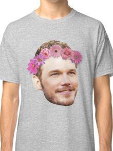Chris Pratt Flower Crown Classic T-Shirt