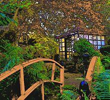 Japanese Tea House Mt Macedon by Rob Watson