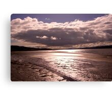 Arnside Clouds Canvas Print