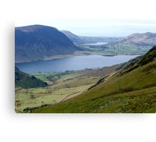 Crummock Water Canvas Print