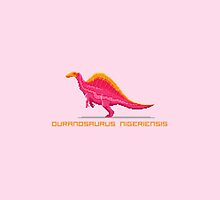 Pixel Ouranosaurus by David Orr