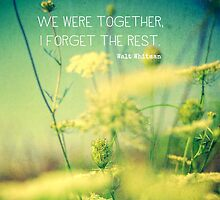 We Were Together by Olivia Joy StClaire