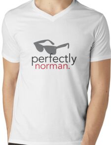 Perfectly Norman Mens V-Neck T-Shirt