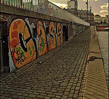 Graffiti in Copenhagen by Tim Constable by Tim Constable