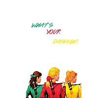 What's Your Damage? - Heathers the Musical Photographic Print