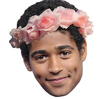 Alfred Enoch Flower Crown by ZannahP