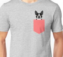Kennedy - Boston Terrier customizable dog gifts for pet owners and Boston Terrier gifts for dog lovers Unisex T-Shirt