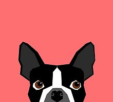 Kennedy - Boston Terrier customizable dog gifts for pet owners and Boston Terrier gifts for dog lovers by PetFriendly