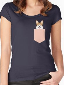 Shelby - Welsh Corgi gifts for dog lovers and pet gifts for dog person Women's Fitted Scoop T-Shirt