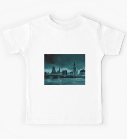 Darkest London Landscape Kids Tee