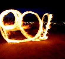 no 3 fire poi aberafan beach uk by zacco
