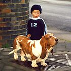 Small Child; Big Dog by Asoka