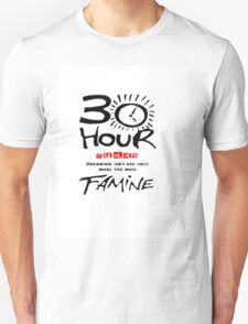 How long is 30 hours T-Shirt