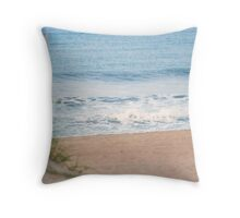 A DAY AT THE BEACH Throw Pillow