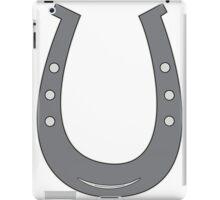 Grey/Black Horseshoe iPad Case/Skin