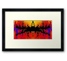 Abstract TX2 Framed Print