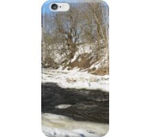 WINTRY RIVER. iPhone Case/Skin