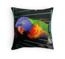 feathery Throw Pillow