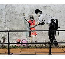 Banksy- Stop and search by Tim Constable