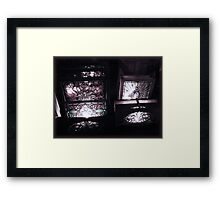 Winchester Windows Framed Print