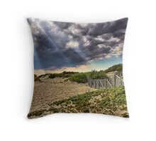 On The Way To The Beach Throw Pillow