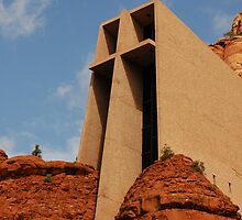 Chapel Of The Holy Cross by Kathleen Struckle