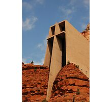 Chapel Of The Holy Cross Photographic Print