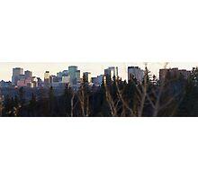 Edmonton Skyline Panorama Photographic Print