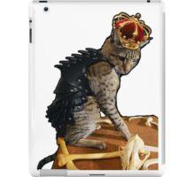 Dragon Slayer King Cat iPad Case/Skin