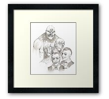Trouble makers Framed Print