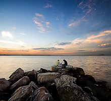 Art Of Fishing by David Haworth