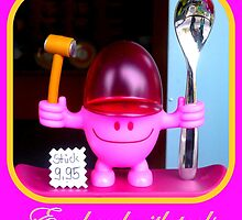 Egghead with tools by ©The Creative  Minds