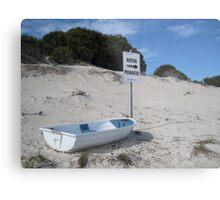 Boating Prohibited! - Rottnest Island 5 Metal Print