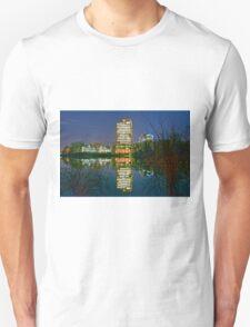 Night Tower in Falls Church Unisex T-Shirt